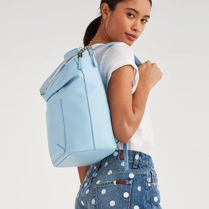 7 For All Mankind Women's Leather Backpack